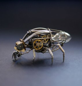Insecte fait avec des parties de montres, etc., de Justin Gershenson